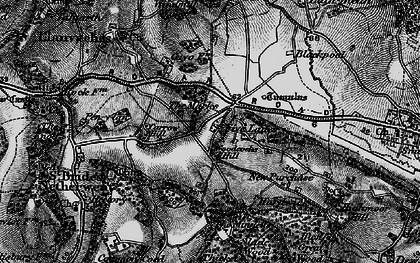 Old map of Woodcock Hill in 1897