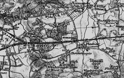Old map of Westwood Place in 1896