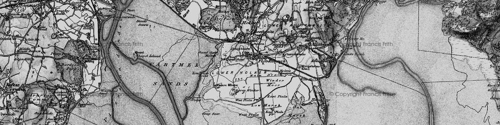 Old map of Winder Moor in 1898