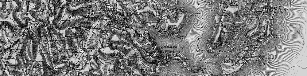 Old map of Flushing in 1895