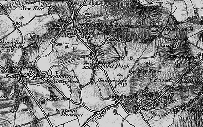 Old map of Lethamhill in 1897