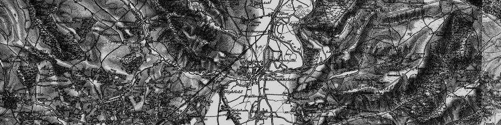 Old map of Fordingbridge in 1895