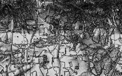 Old map of Forest Green in 1896