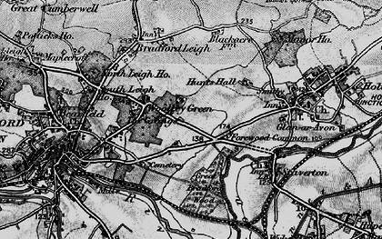 Old map of Forewoods Common in 1898