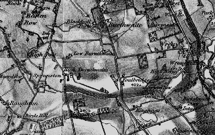 Old map of Bankdale Park in 1897