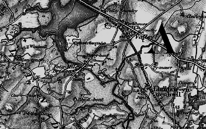 Old map of Four Mile Bridge in 1899