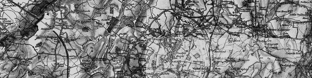 Old map of Frampton Cotterell in 1898