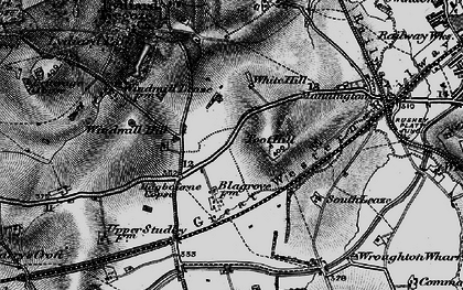 Old map of Freshbrook in 1898
