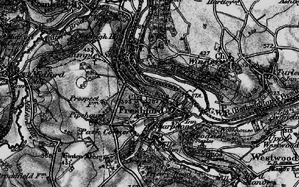 Old map of Freshford in 1898