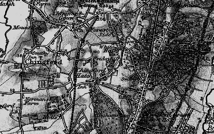 Old map of Friday Hill in 1896