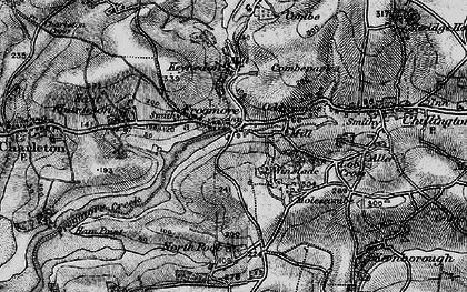 Old map of Frogmore in 1897