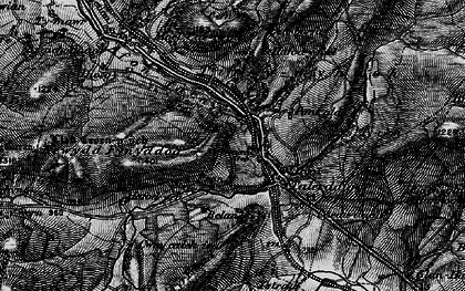 Old map of Ystrad in 1899