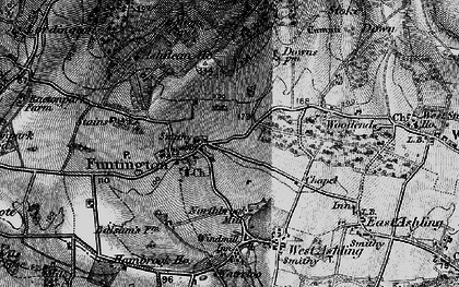 Old map of Adsdean Ho in 1895