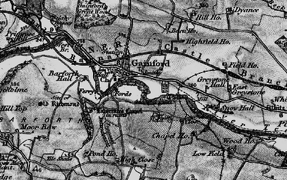 Old map of Barforth Hall in 1897