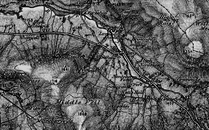 Old map of Whimsey Hill in 1897