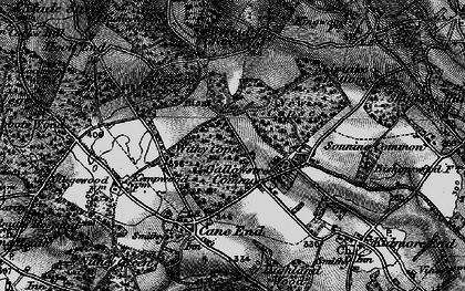 Old map of Wyfold Grange in 1895