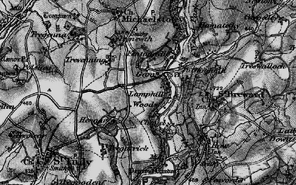 Old map of Gam in 1895