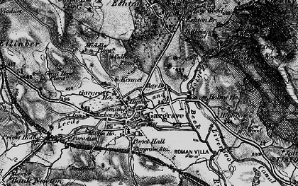 Old map of Gargrave in 1898