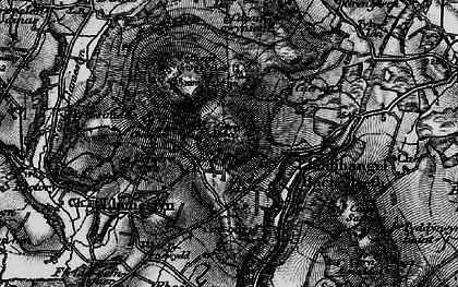 Old map of Tyn Lôn in 1898
