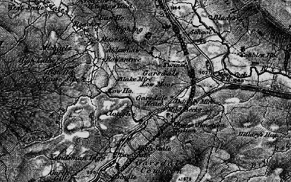 Old map of Yore Ho in 1897