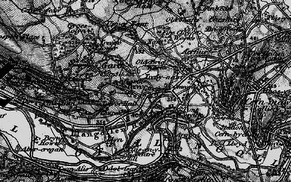 Old map of Garth Trevor in 1897