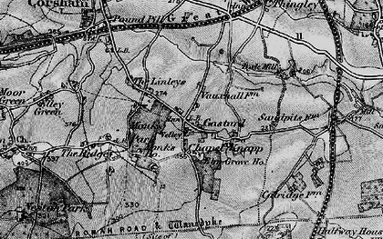 Old map of Gastard in 1898