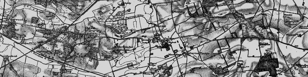 Old map of Wizard Lodge in 1898