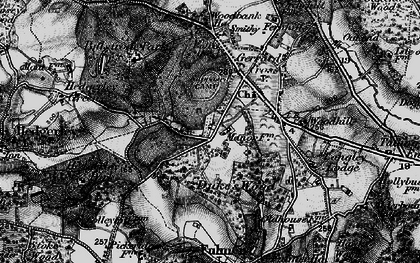 Old map of Gerrards Cross in 1896
