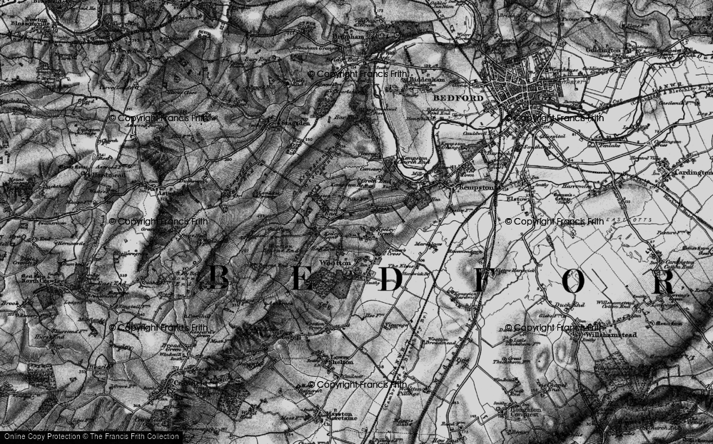 Old Map of Gibraltar, 1896 in 1896