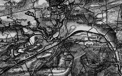 Old map of Gilsland in 1897