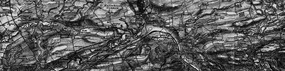 Old map of West Nichold in 1897