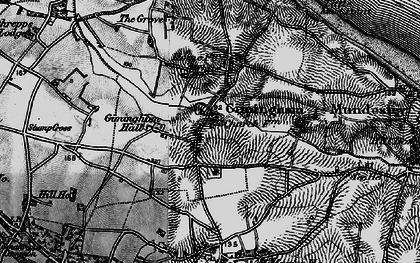 Old map of Gimingham in 1899