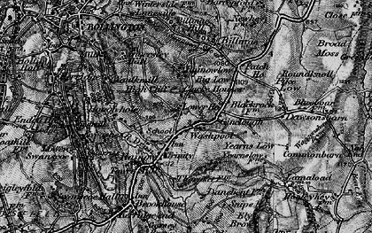 Old map of Yearns Low in 1896