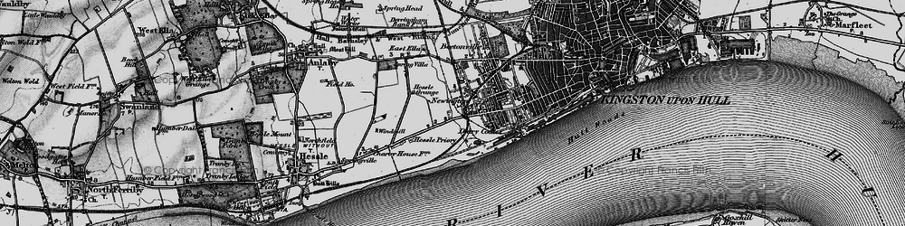 Old map of Gipsyville in 1895