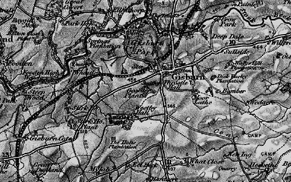 Old map of What Close in 1898