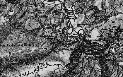 Old map of Glaisdale in 1898