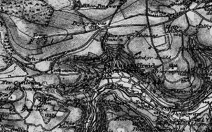 Old map of Glyn Ceiriog in 1897