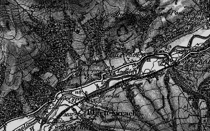 Old map of Glyn-neath in 1898