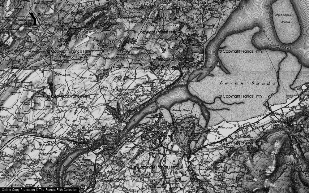 Old Map of Glyngarth, 1899 in 1899