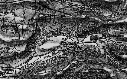 Old map of Goginan in 1899