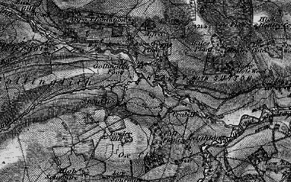 Old map of Bales Plantn in 1897