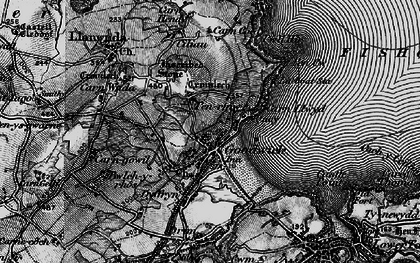 Old map of Goodwick in 1898