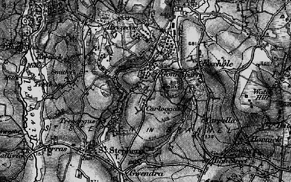 Old map of Goonabarn in 1895