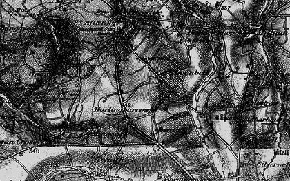Old map of Goonbell in 1895
