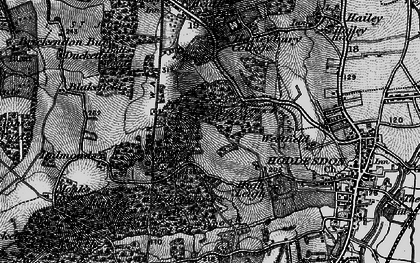 Old map of Goose Green in 1896