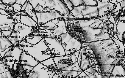 Old map of Whitehouse Plantation in 1899