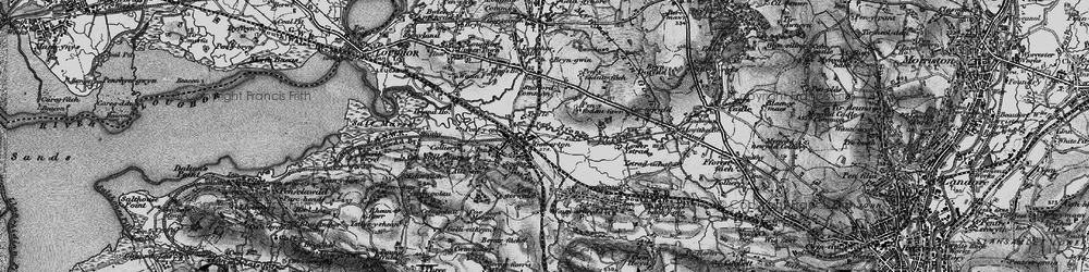 Old map of Gowerton in 1897