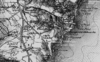 Old map of Grade in 1895