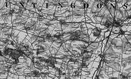Map of Grafham, 1898