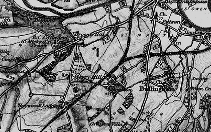 Old map of Grafton in 1898